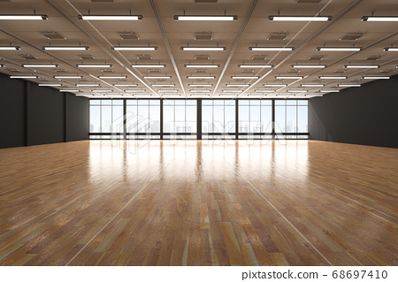 Empty room interior 68697410