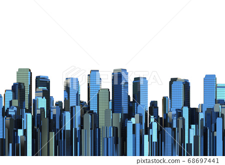 High rise building 68697441