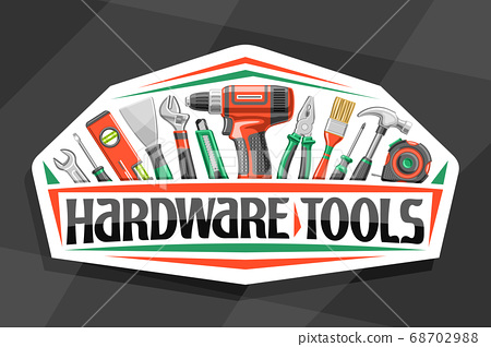 Vector logo for Hardware Tools 68702988