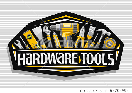 Vector logo for Hardware Tools 68702995