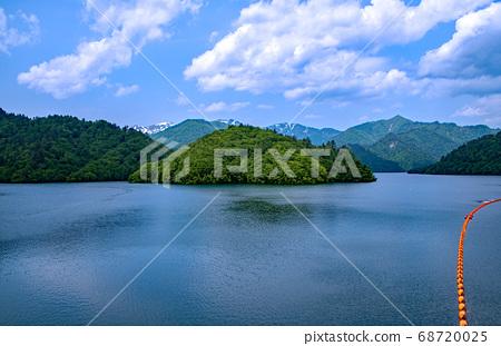 염소 사와 댐 奥利根湖 군마현 미나 카미 정 68720025