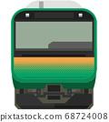 Dot picture style E235 series (Tokaido line etc.) 68724008