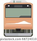 Dot picture style 205 series (Fujikyu Line) 68724010