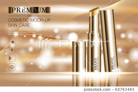Hydrating facial lipstick for annual sale or festival sale. 68763465