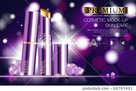 Hydrating facial lipstick for annual sale or festival sale. 68763481