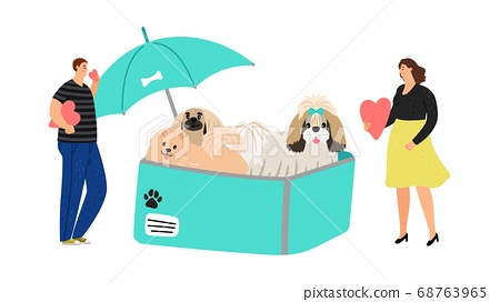 Dog protection concept 68763965