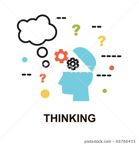 Concept of Thinking icon 68766433