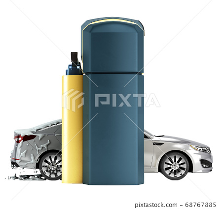 automatic car wash presentation concept car 68767885