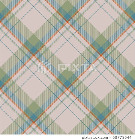 Tartan scotland seamless plaid pattern vector. 68775644