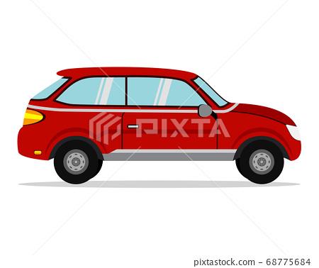 Car vector template 68775684