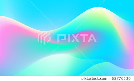 Pastel sound wave illustration background 68776530