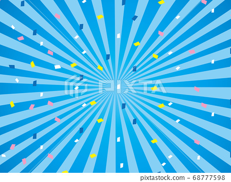 Effect line concentrated line colorful background 68777598