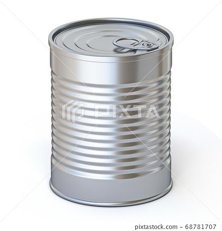 Food metal tin 3D 68781707