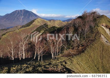 Okunikko: The middle ridge of Lake Chuzenji on the southern shore of Lake Chuzenji from Mt. 68796351