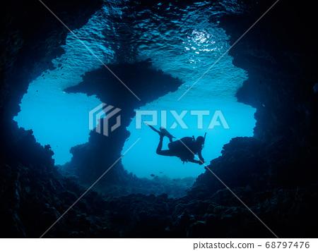 Cave Diver 68797476