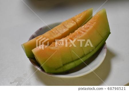 First home grown melon 68798521