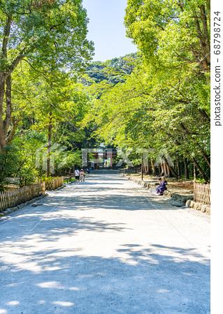 [가나가와 현] 가마쿠라 여름 쓰루 오카 하치만 구 68798724