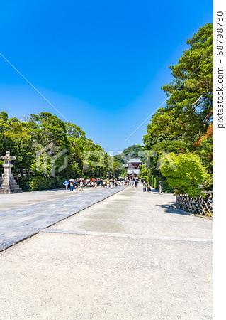 [가나가와 현] 가마쿠라 활짝 갠 쓰루 오카 하치만 구의 모토와 마이 전 68798730