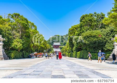 [가나가와 현] 가마쿠라 활짝 갠 쓰루 오카 하치만 구의 모토와 마이 전 68798734
