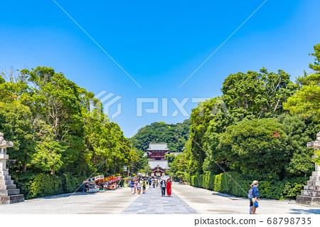 [가나가와 현] 가마쿠라 활짝 갠 쓰루 오카 하치만 구의 모토와 마이 전 68798735