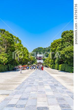 [가나가와 현] 가마쿠라 활짝 갠 쓰루 오카 하치만 구의 모토와 마이 전 68798736