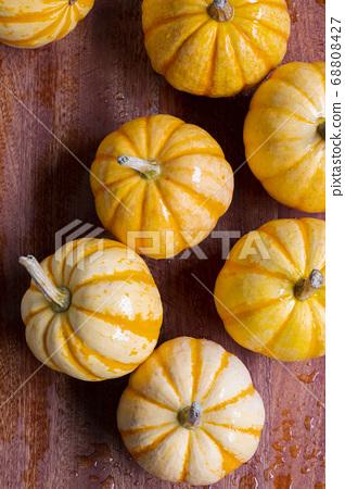 新鮮,南瓜,新鮮なカボチャ、Fresh, pumpkin, 68808427