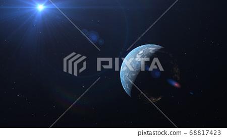 지구 CG perming3DCG 일러스트 소재 68817423