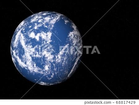 지구 CG perming3DCG 일러스트 소재 68817429