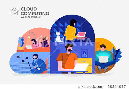 Cloud Computiong for Work from Home 03 68844037