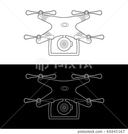 Drones Vector 09 68845167