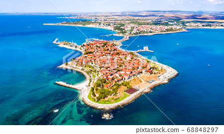 Nesebar, Bulgaria - Black Sea coastline 68848297