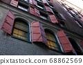 老大廈窗口和快門在紐約。 68862569
