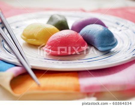 韓國傳統食品Osaek Songpyeon 68864834