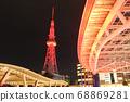 點亮紅色!名古屋電視塔和綠洲21 68869281