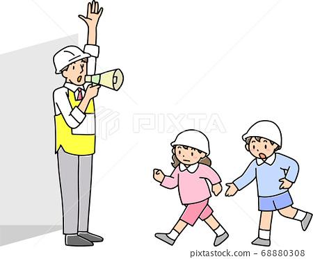 小學疏散訓練 68880308