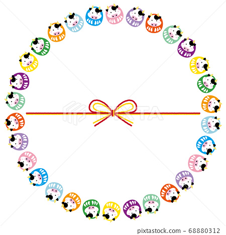Cow 03_14 (Circle of cow dharma) 68880312