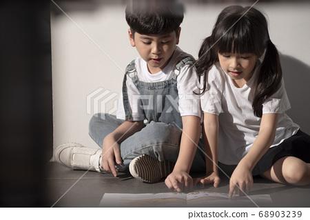 孩子們的肖像 68903239