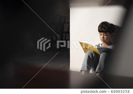 어린이 초상화 68903258