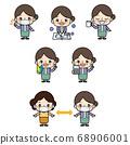 阿姨_姿勢模式 68906001