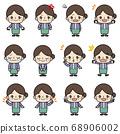 阿姨_姿勢模式 68906002