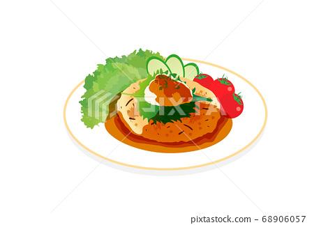 豆腐漢堡 68906057