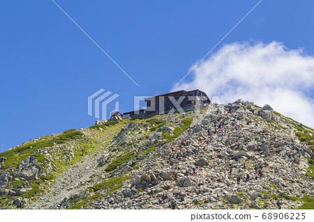 [館山北阿爾卑斯山]從小徑看大山山的山頂 68906225