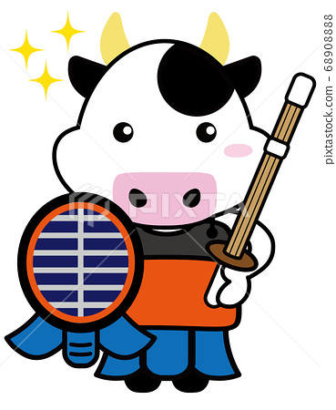 Cattle 06_11 (cattle with sports/glitter/kendo armor) 68908888