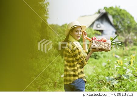 Women farmer 68913812