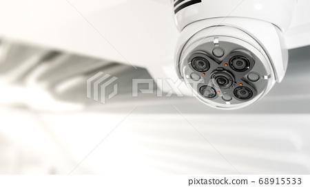 Modern security CCTV camera 68915533