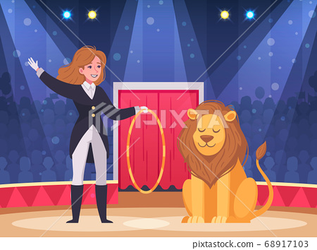 Circus Show Background 68917103