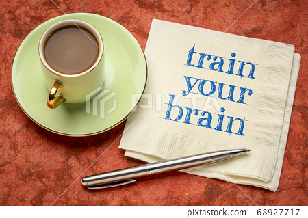 train your brain motivational note 68927717