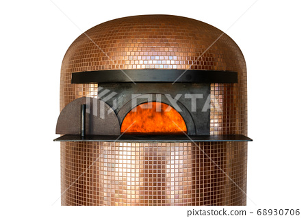 pizza oven, isolated on a white background 68930706