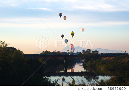 Saga City Saga International Balloon Festa 68931090