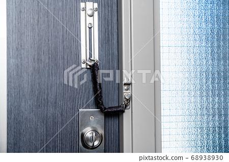 현관 문 방범 안쪽 체인 잠금 68938930